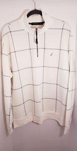 Nautica 1/4 Zip Sweatshirt XL New